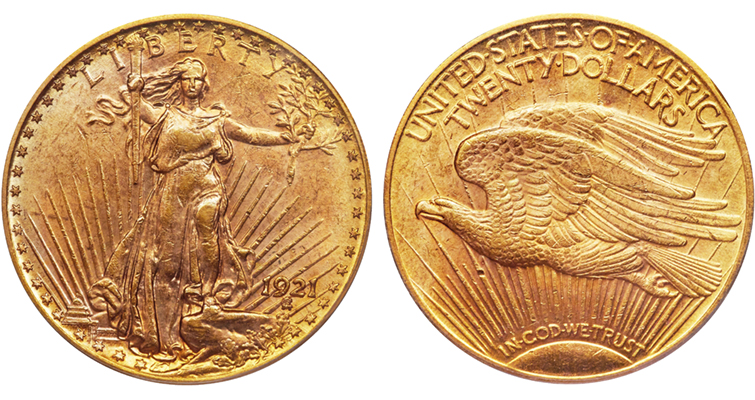 1921 gold double eagle merged