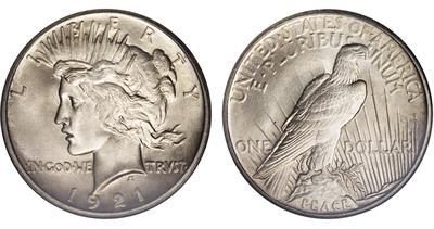 1921-peace-dollar