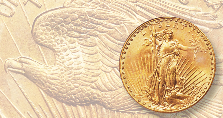 1927-S Saint-Gaudens double eagle