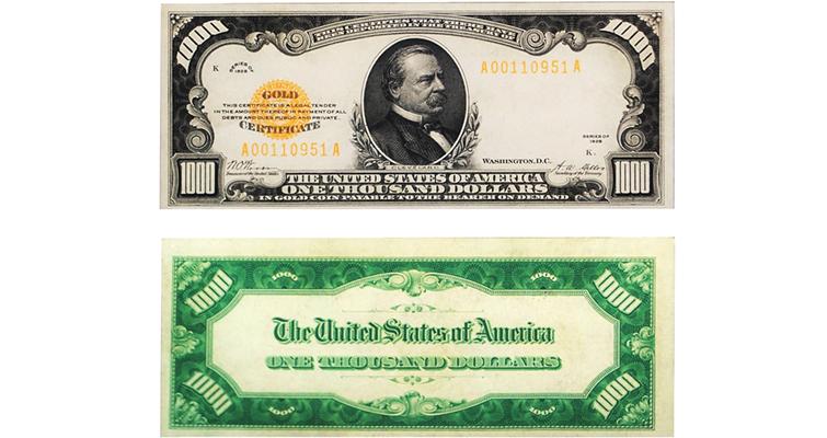 1928-1000-dollar-gold-certificate