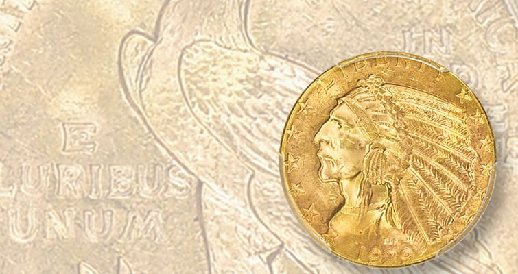 1929 Indian Head gold realizes a significant ticket: Market Analysis
