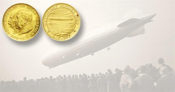 1929-graf-zeppelin-gold-medal-in-auction