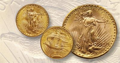 1931-D and 1932 Saint-Gaudens gold double eagles