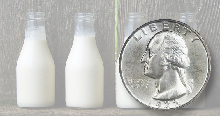 "The Washington quarter dollar was released into circulation Aug. 1, 1932, in the depths of the Great Depression. That day in Dubuque, Iowa, the coin could buy four quarts of ""pure, fresh milk"" with 5-cents to spare. This particularly well-preserved example of the coin sold for $82,250 at Heritage Auctions' 2015 Long Beach show."