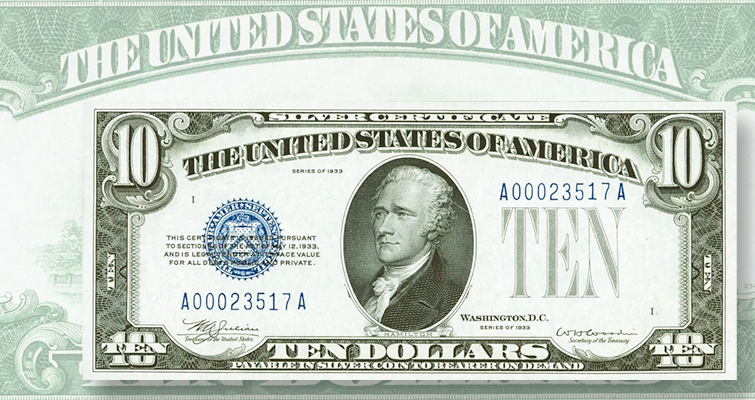 Small-size notes star in ANA convention paper money auctions