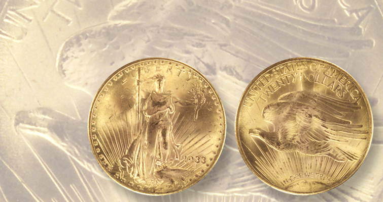 1933 double eagles in Mint custody safe from melting: Week's Most Read