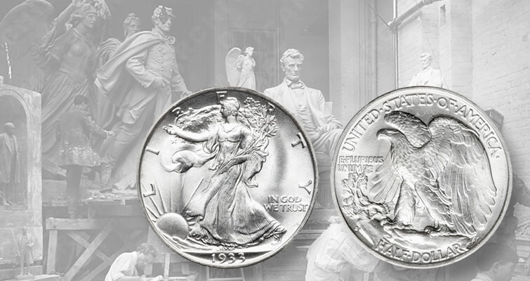 Walking Liberty half dollar history
