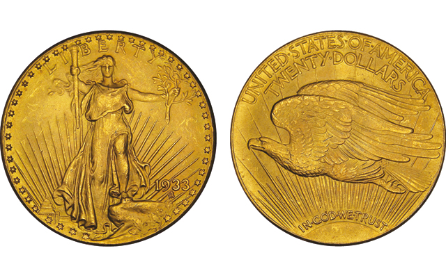A federal court has ruled in favor of the Langbord family in the ongoing suit involving ownership of 10 1933 Saint-Gaudens double eagles.  Images by Thomas Mulvaney, courtesy of United States Mint.