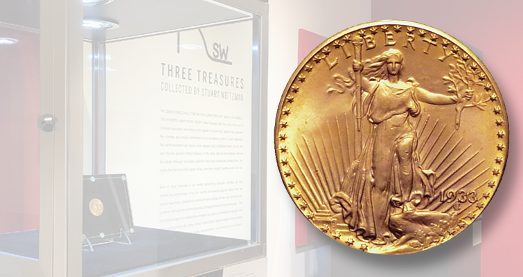 1933 gold double eagle at Sotheby's