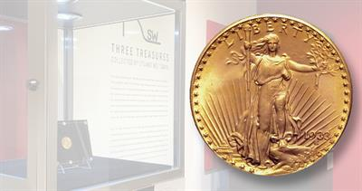 1933 gold double eagle at Sotheby