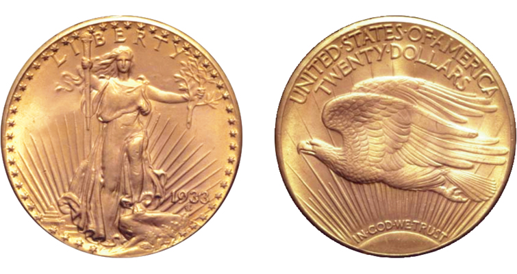 1933 double eagle allegedly owned by King Farouk
