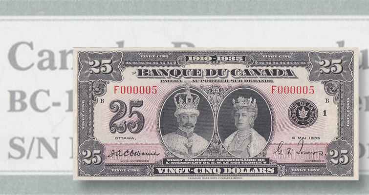 Hidden treasure trove of Canadian bank notes among auction highlights