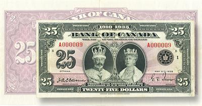 Canada $25 note