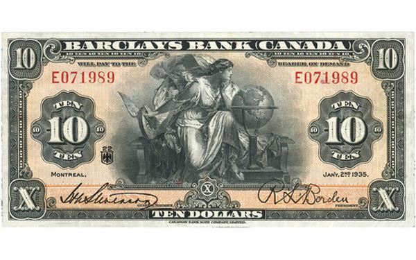 1935-montreal-barclays-10-note-face