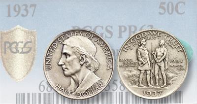 1937 Daniel Boone Centennial