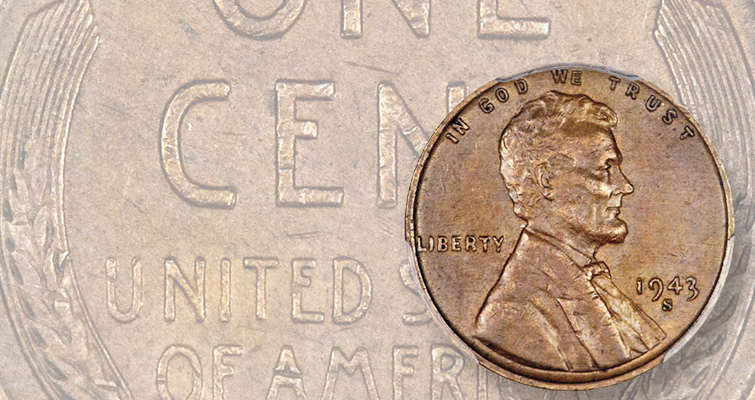 Bronze 1943-S Lincoln cent sells in private transaction March 2
