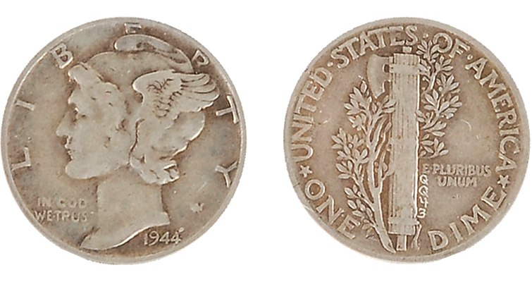1944 WLH Grissom dime merged