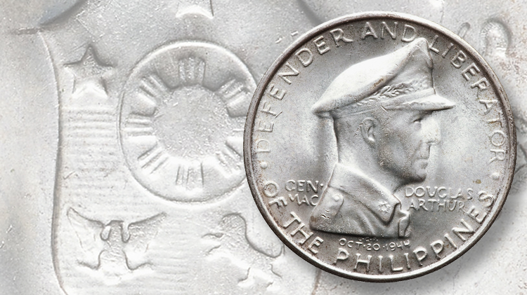 General MacArthur Phillippines coins