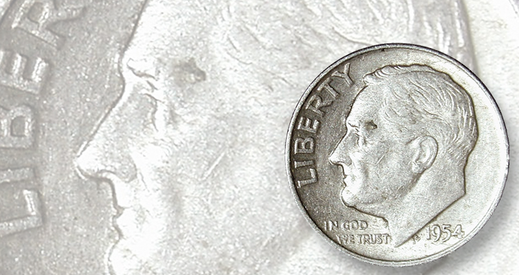 Roosevelt dime roll search yields silver bonanza: Found in Rolls