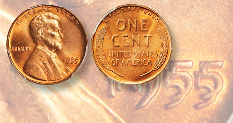 Legendary' 1955 Lincoln, Doubled Die Obverse cent turns heads at