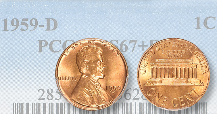 Controversial 1959-D Lincoln cent 'mule' heads to auction