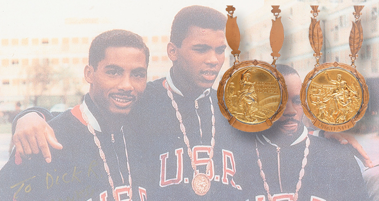 Olympic gold medal from 1960 Summer Games in Rome coming to auction