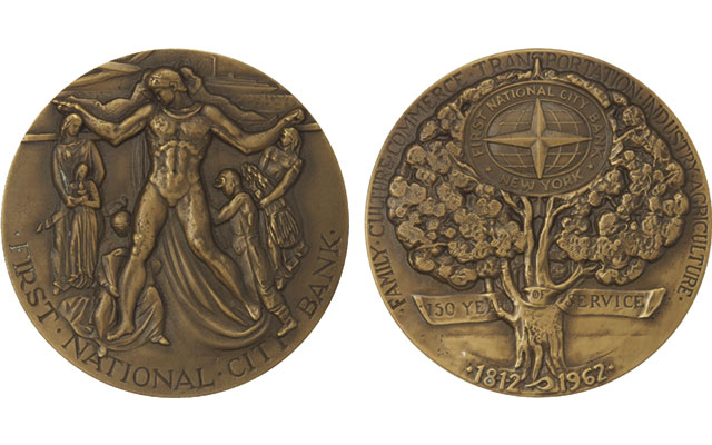 1962-first-national-city-bank-medal