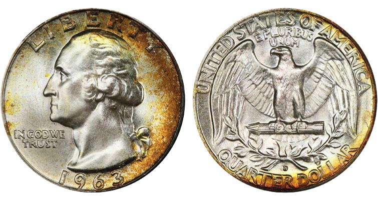 1963-D quarter dollar