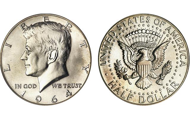 1776 1976 P+D+S+S Kennedy Half Dollar Mint Proof Set from Original Sets