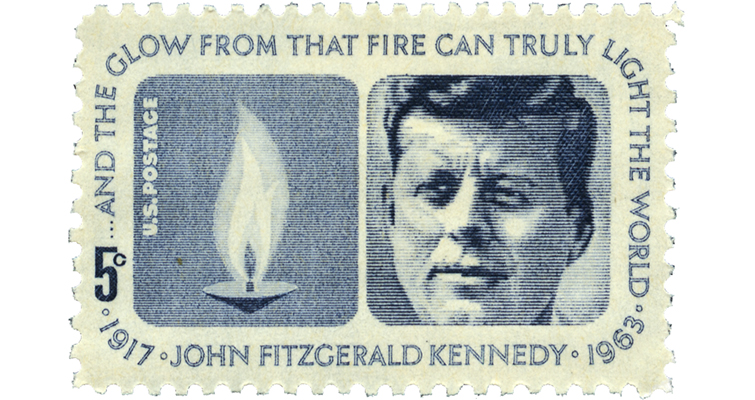 1964-JFK-5-cent-stamp