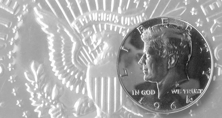 Collector asks: Is my 1964 Kennedy half dollar a Special Mint set coin?