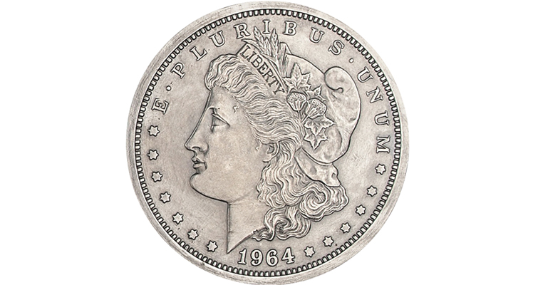 Master hub for 1964 Morgan dollar