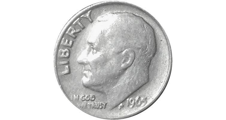 1965-roosevelt-dime