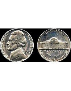 1969-D Jefferson 5c coin