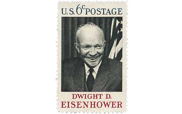 The 1969 6 Cent Eisenhower Stamp Included Is United States Scott 1383 According To 2015 Specialized Catalogue Of Stamps And Covers
