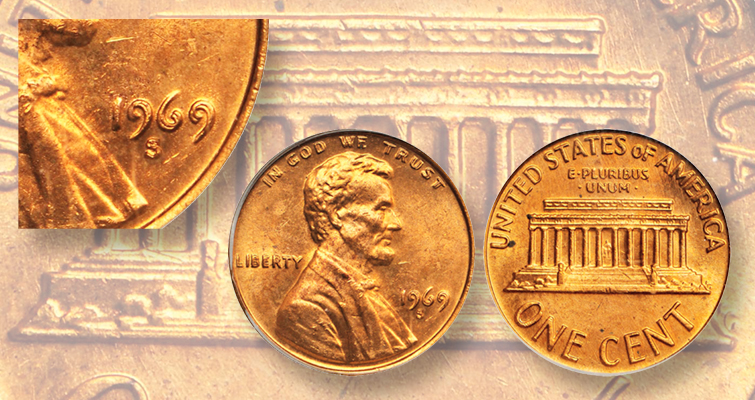 Seeing doubled elements on a Lincoln cent?
