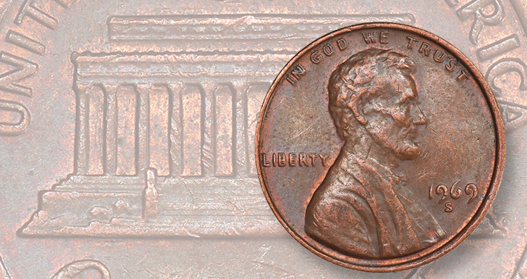 Texas mother finds 1969-S Lincoln, Doubled Die Obverse cent while