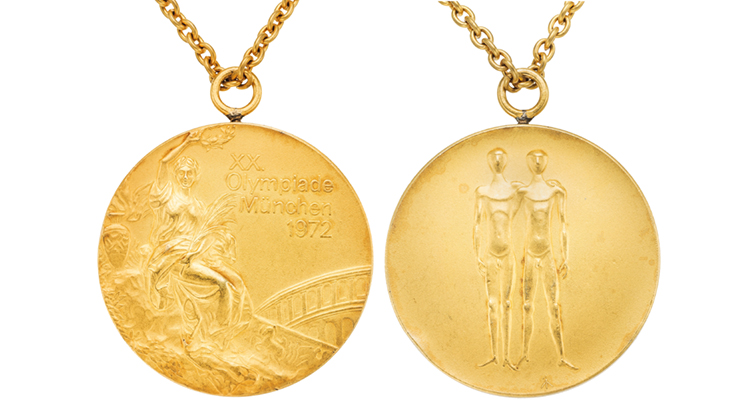 1972 Munich Olympics Gold Merged