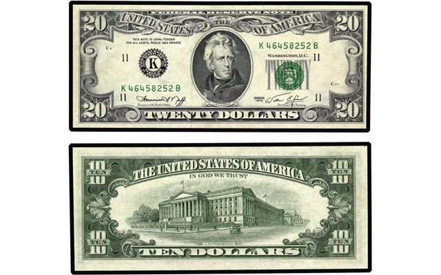Double-denomination U.S. notes: How do they happen?