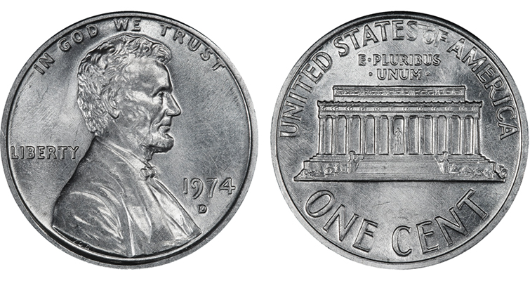 TV show tells the story of the 1974-D aluminum cent
