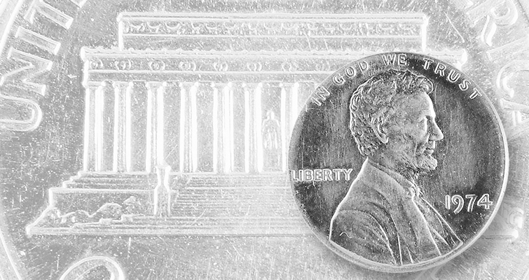 U.S. Mint could attempt recovery of aluminum 1974 Lincoln cent
