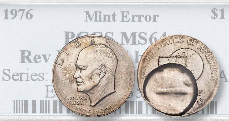 This Recently Sold 1976 Eisenhower Dollar Error Is Weird But Desirable,Soy Cheesecake