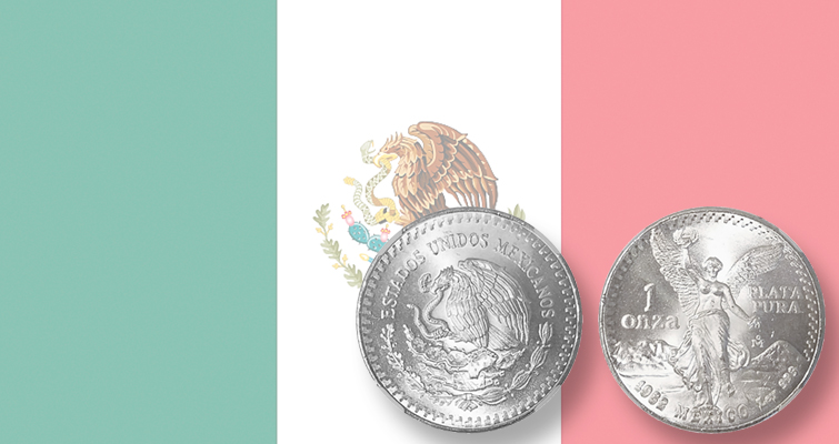 On a journey 'in' Mexico with the Libertad silver bullion coins: Around the World