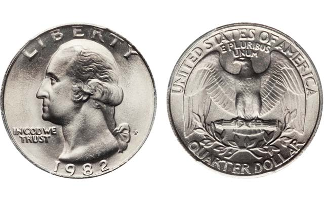 1982 Washington Quarter A Great Modern Find Market Analysis