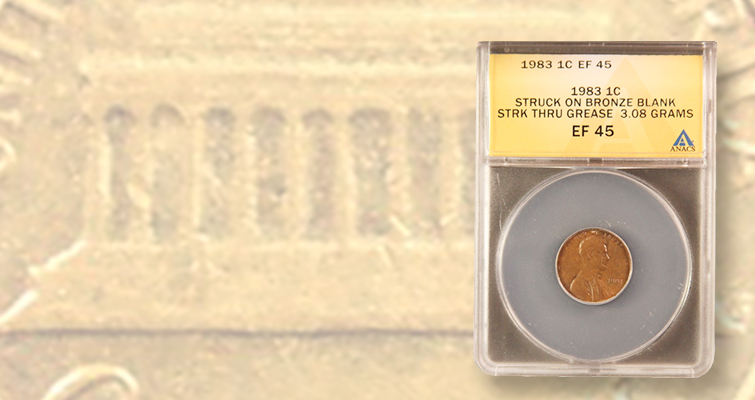 1983 P+D UNCIRCULATED USA Small Cents Two Coins