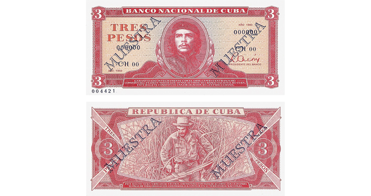 1983 Guevara 3 Muestra Twice-Outlined Merged