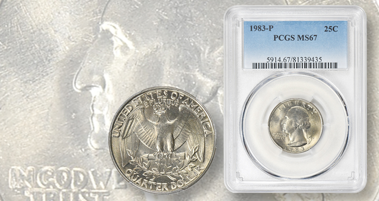 Why a 1983-P Washington quarter recently sold for nearly $2,000