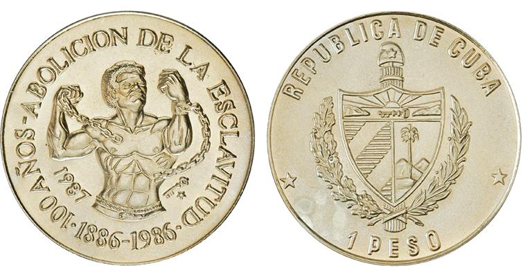 1987-cuba-peso-slavery-coin