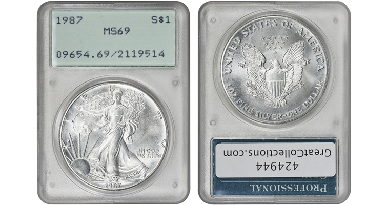 1987-silver-eagle-pcgs-ms-69-holder-merged