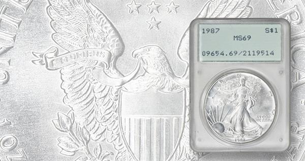 1987-silver-eagle-pcgs-ms-69-holder-obverse-lead
